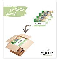 Moltex Pure & Nature Mini vel. 2 (4× 38 ks) - Eko pleny