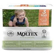 Moltex Pure & Nature Midi vel. 3 (6× 33 ks)      - Eko pleny