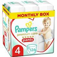 PAMPERS Premium Care Pants vel. 4 (126 ks) - Plenkové kalhotky