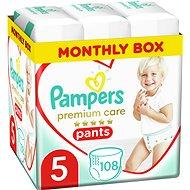 PAMPERS Premium Care Pants vel. 5 (108 ks) - Plenkové kalhotky