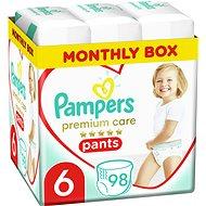 PAMPERS Premium Care Pants vel. 6 (98 ks) - Plenkové kalhotky