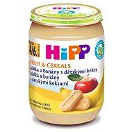 HiPP BIO Jablka a banány s dětskými keksy - 6× 190 g - Příkrm
