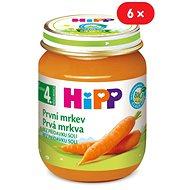 HiPP BIO První mrkev - 6× 125 g - Dětský příkrm