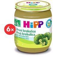 HiPP BIO První brokolice - 6× 125 g - Příkrm