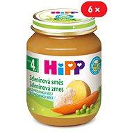 HiPP BIO Zeleninová směs - 6× 125 g - Příkrm