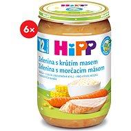 HiPP BIO Vegetable with turkey meat - 6 × 220 g - Kids dish
