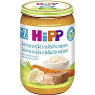 HiPP BIO Zelenina s rýží a telecím masem - 6× 220 g - Příkrm