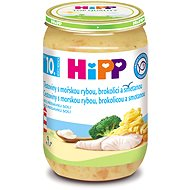 HiPP Těstoviny s mořskou rybou, brokolicí a smetanou - 6× 220 g - Příkrm