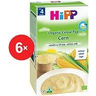 HiPP BIO Obilná kaše kukuřičná - 6× 200 g - Nemléčná kaše