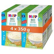 HiPP BIO Obilná kaše rýžová  - 4× 350 g - Nemléčná kaše