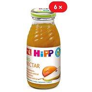 HiPP BIO Meruňkovo-hruškový nektar - 6× 200 ml - Nápoj