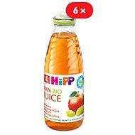 HiPP BIO Jablečno-hroznová šťáva - 6× 500 ml - Nápoj
