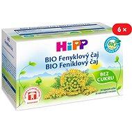 HiPP BIO Fenyklový čaj - 6× 30 g - Čaj