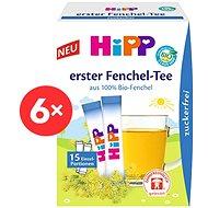 HiPP BABY Fenyklový čaj - 6× 5,4 g - Dětský čaj