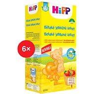 HiPP BIO Dětské jablečné keksy - 6× 150 g - Sušenky
