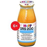 HiPP ORS 200 Mrkev-rýže - 6× 200 ml - Nápoj