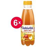 Bebivita Mrkvovo-ovocná štáva - 6× 500 ml - Nápoj