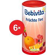 Bebivita Ovocný čaj - 6× 200 g - Dětský čaj