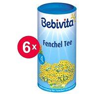 Bebivita Fenyklový čaj - 6× 200 g - Dětský čaj