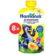 Hamánek Plum 8× 120g - Baby Food