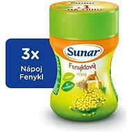 Sunar Rozpustný nápoj fenyklový - 3× 200 g - Nápoj