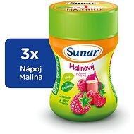 Sunar Rozpustný nápoj malinový - 3× 200 g - Nápoj