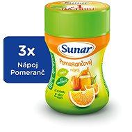 Sunar Rozpustný nápoj pomeranč 3× 200 g - Nápoj