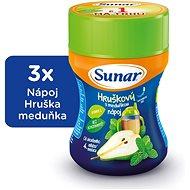 Sunar Rozpustný nápoj meduňkový s hruškami 3× 200 g - Nápoj
