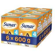 Sunar Complex 4 - 6× 600 g - Kojenecké mléko