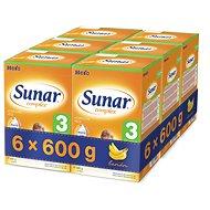 Sunar Complex 3 banán - 6× 600 g
