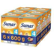 Sunar Complex 4 jahoda - 6× 600 g