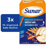 Sunbreaker semolina with cinnamon for good night - 3 × 225 g - Milk pudding