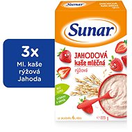 Sunbreaker Strawberry Jelly - 3 × 225 g - Milk pudding