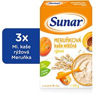Sunárek apricot jelly - 3 × 225 g - Milk pudding