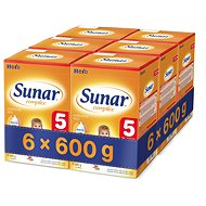 Sunar Complex 5 - 6× 600 g - Kojenecké mléko