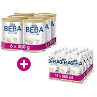 BEBA COMFORT 3 HM-O (6× 800 g) + BEBA COMFORT 3 HM-O Liquid 12× 500 ml