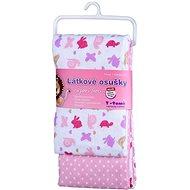 T-tomi Towels 2 pcs - Pink Snails - Children's bath towel