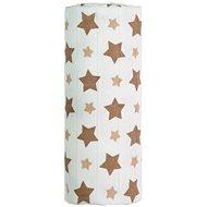 T-tomi Bamboo Towel 1 Piece - Beige Stars - Children's bath towel