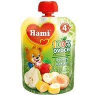 Hami Ovocná kapsička ovocný koktejl 90 g - Dětský příkrm