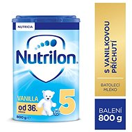 Nutrilon 5 Pronutra Vanilla batolecí mléko 800 g - Kojenecké mléko
