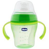 Chicco Soft Cup, 6m+ - zelená - Láhev na pití pro děti