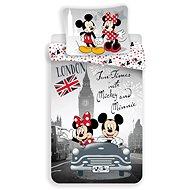 Jerry Fabrics Mickey a Minnie in London - Dětské povlečení