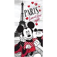 Jerry Fabrics Osuška Mickey a Minnie in Paris - Dětská osuška
