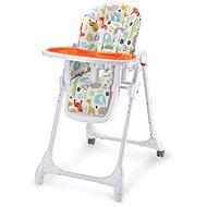 Petite&Mars Zola oranžová - Jídelní židlička