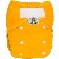 Bamboolik Noční kalhotková plena - žlutá - Plenkové kalhotky