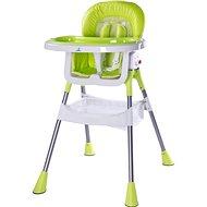 CARETERO Pop green - Jídelní židlička
