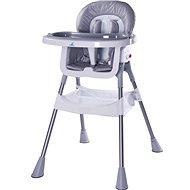 CARETERO Pop grey - Jídelní židlička