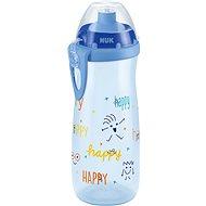 NUK FC Láhev PP Sports Cup 450 ml - šedá - Láhev na pití pro děti