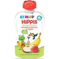 HiPP BIO 100% ovoce Jablko-Banán-Jahoda 100 g - Dětský příkrm