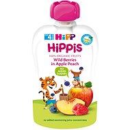 HiPP BIO 100% ovoce Jablko-Broskev-Lesní ovoce 100 g - Dětský příkrm
